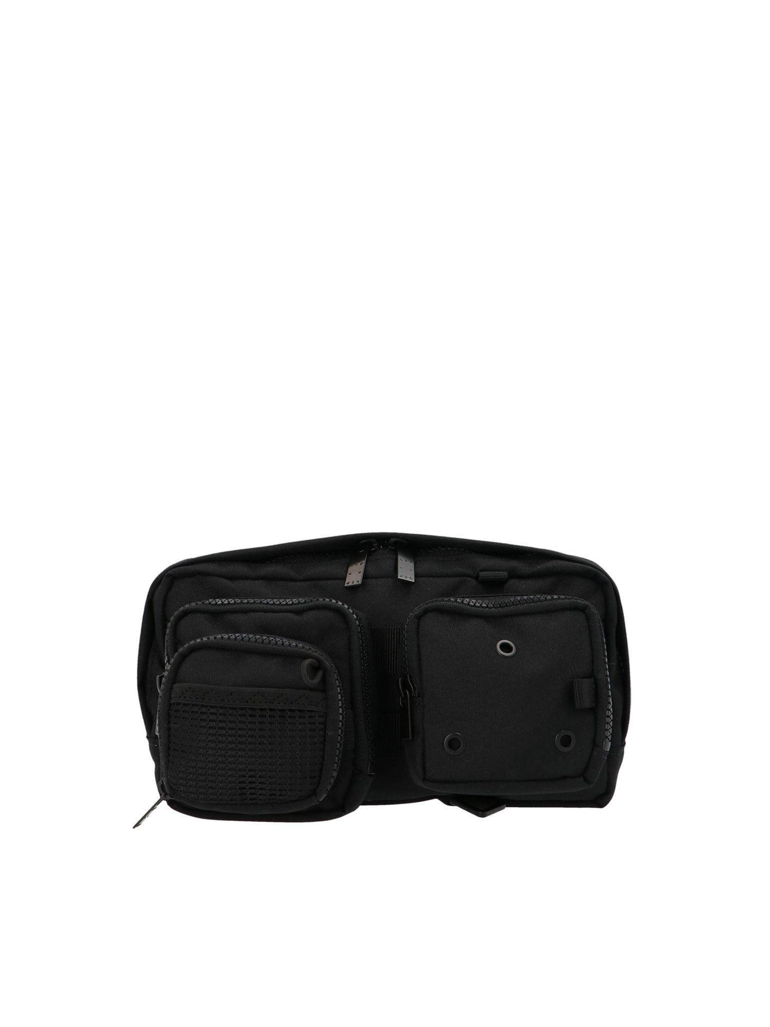 Mcq By Alexander Mcqueen MULTIPOCKET BELT BAG IN BLACK