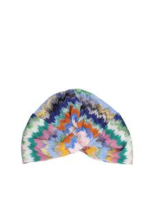 Missoni - Chevron turban in multicolor