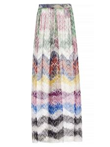 Missoni - Pantaloni maxi chevron multicolor