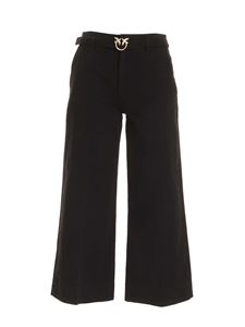Pinko - Peggy 5 Palazzo jeans in black