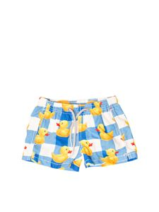 MC2 Saint Barth - Swim boxer Ducks in blue
