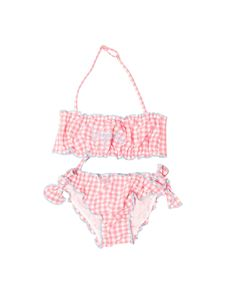 MC2 Saint Barth - Checked bikini swimsuit in pink