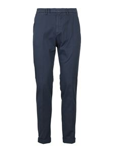 Briglia 1949 - Gabardine pants in blue