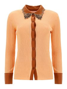 Chloé - Shirt-cardigan in pink