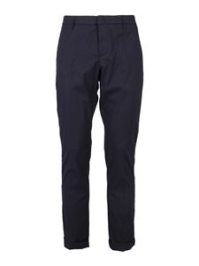 Dondup - Gaubert cotton pants in blue