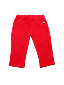LIU JO Junior - Rhinestones pants in red