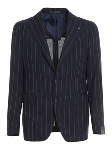 Tagliatore - Striped virgin wool suit