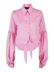 Federica Tosi - Cropped shirt in pink