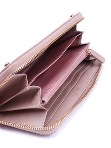 Liujo - Zip-around faux leather wallet in pink