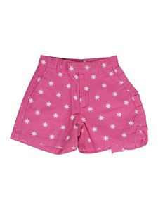 N°21 Kids - Star-print shorts in pink