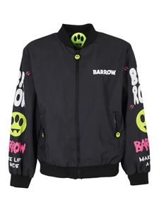 Barrow - Bomber with prints in black