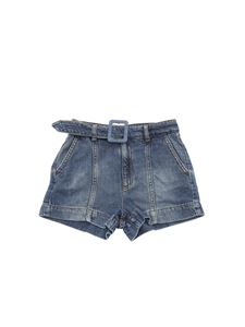 LIU JO Junior - Belt shorts in blue