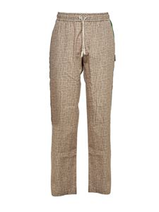 Palm Angels - Confy Monogram pants in beige
