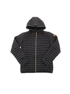 Save The Duck - Iris 12 hooded puffer jacket in black