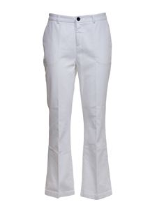 Department 5 - Chino pants in white