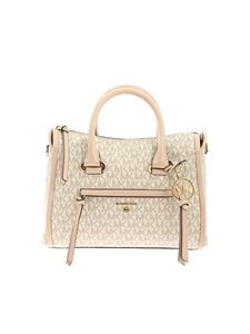 Michael Kors - Monogram bag in pink and ivory color