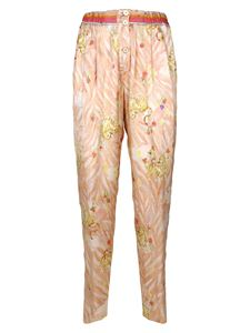 Forte Forte - Tiger Print pants in Coral
