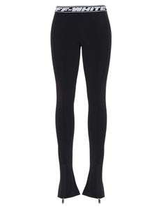 Off-White - Athelisure split leggings in black
