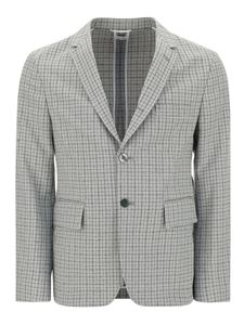 Thom Browne - Checked blazer in grey