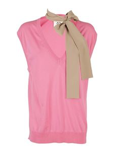Semicouture - Sandrine vest in pink
