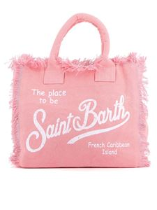 MC2 Saint Barth - Vanity cotton beach bag in pink