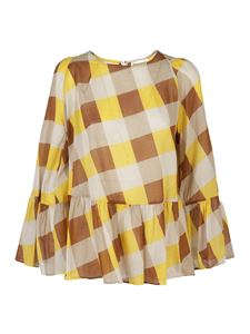 Semicouture - France blouse in yellow