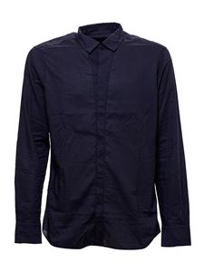 Paolo Pecora - Cotton shirt in blue