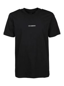CP Company - Cotton T-shirt in black