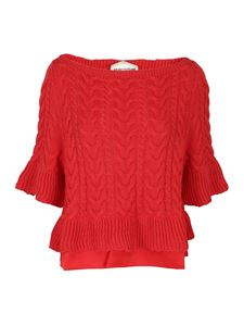 Semicouture - Floralie jumper in red