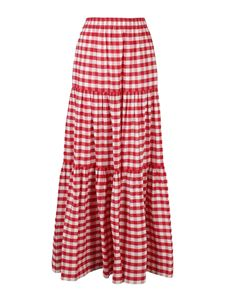 Semicouture - Felicie skirt in red and white