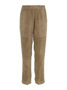 Dondup - Viscose trousers in beige