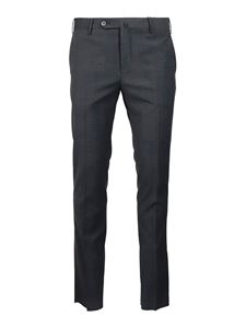 PT Torino - Wool blend pants in grey