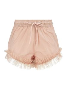 Red Valentino - Taffeta shorts in beige