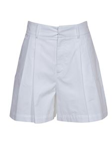 Red Valentino - Tucks shorts in white