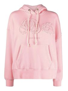 Palm Angels - Cotton hoodie in pink