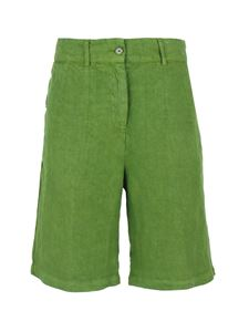 Aspesi - Patch pockets shorts in green