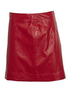 Philosophy di Lorenzo Serafini - Eco mini skirt in red