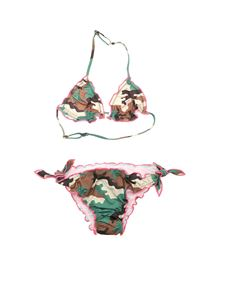 MC2 Saint Barth - Military Camo bikini in green
