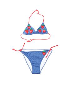 MC2 Saint Barth - Strawberry Denim bikini in blue
