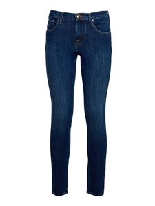 Jacob Cohën - Kimberly Crop jeans in blue