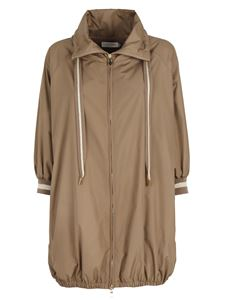 Le Tricot Perugia - Long jacket in beige