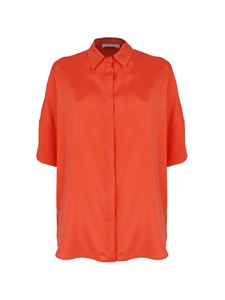 Le Tricot Perugia - Short-sleeved shirt in red