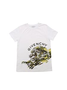 Givenchy - Tiger print T-shirt in white