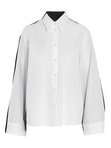 MM6 Maison Margiela - Two-tone shirt in white and black