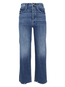 Mother - Rambler cropped jeans in blue