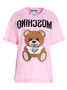 Moschino - Inside Out Teddy Bear over t-shirt in pink