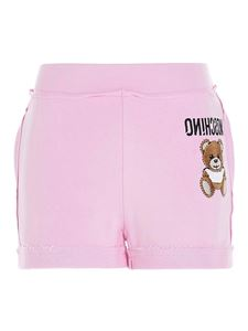 Moschino - Inside Out Teddy Bear shorts in pink