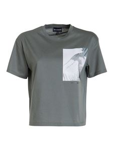 Emporio Armani - Printed T-shirt in green