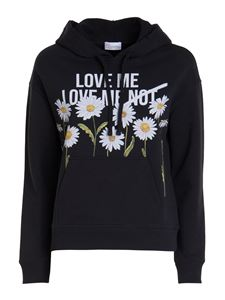Red Valentino - Daisy hoodie in black