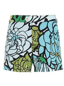 Tom Ford - Floral print multicolor swim trunks